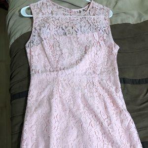 Light Pink lace formal dress